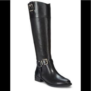 INC Women's Fedee leather riding boots